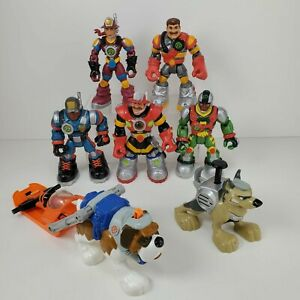 Lot Mattel Fisher Price RESCUE HEROES Figures Animals