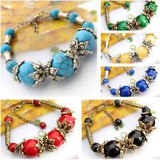 Coral Stone Tibetan Silver Fashion Jewellery