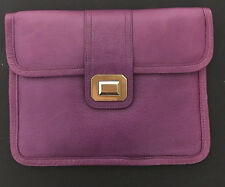 Juicy Couture Leather Ipad Case Clutch, NWT