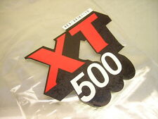 1x 4e5-24161-10 in alluminio-SERBATOIO DECORO xt500 SCRITTA ADESIVO STICKER EMBLEMA Graphic
