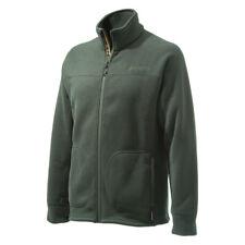 Beretta Full Zip Polartec 300 Ribbed Look Bi-Active Sweater Fleece in Green P...