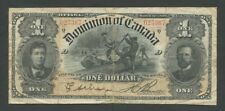 CANADA - $1  1898  P24Ab  good Fine  ( World Paper Money )