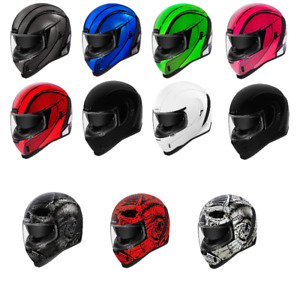 2021 Icon Airform Motorcycle Street Bike Helmet DOT - Pick Size & Color