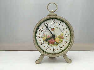 Howard Miller Savannah BotanicalTable Top Clock