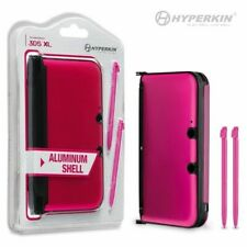 3DS XL Aluminum Shell with 2 Stylus Pens (Pink)