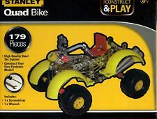 NEW - Stanley Construct & Play Quad Bike 179 Piece Set