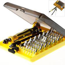 45 in 1 Multi-Bit Repair Tools Kit Set Torx Screw Drivers For Gadgets, Laptop L8
