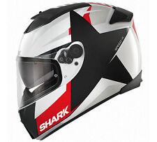 Shark Speed-R Texas Motorcycle Helmet White / Black / Red S 55-56 cm RRP $549.00