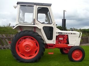 David Brown 885 Tractors Operators Manual PDF CD