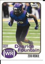 2018 HIT DAURICE FOUNTAIN (COLTS from Northern Iowa) Rookie Card X 25