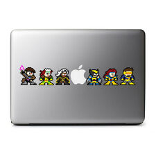 8-Bit Retro The XMEN Decal Set for MacBook Pro, DELL, iPhone 8, iPads, iPhone X