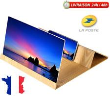 Agrandisseur écran téléphone 3D Loupe d'écran 12 pouces support haute finition