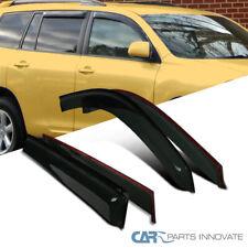 Window Visor For Toyota Highlander 08-13 Wind Deflector Vent Rain Guard Sun
