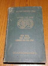 1915 Scarborough's Tour Book New York Automobile Association NY NJ Canada East