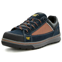 MENS Caterpillar COMMAND S1P STEEL TOE CAP SAFETY WORK TRAINERS SHOES BOOTS SZ