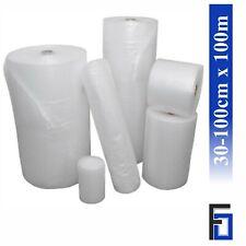 Rolle Luftpolsterfolie 30/50/60/75/100cm x 100m Verpackungsfolie Noppenfolie 100