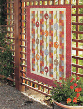 Autumn Posy Patch Quilt Pattern Pieced/Applique CW