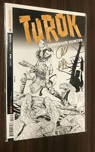 TUROK Dinosaur Hunter #1 -- Limited 1:250 Dynamic Forces SIGNED Sketch Variant