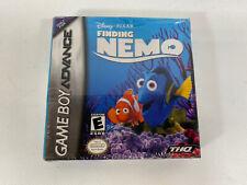 Finding Nemo Gba (Nintendo Game Boy Advance, 2003) Brand New Disney (1E1)
