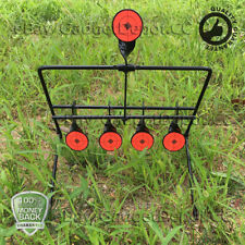 Spinning Resetting Metal Target For Outdoor Shooting Air Gun Pellet BB Gun