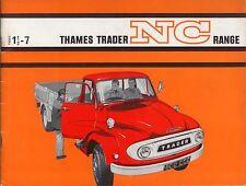 Ford Thames Trader NC Range 1½ - 7 Ton Truck 1964-65 UK Brochure Pub. No. V3621
