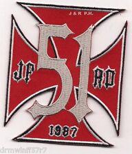 """Jacksonville  Station-51, FL """"1987"""" (3.25"""" x 4""""size)  fire patch"""