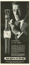 1961 Movado Kingmatic Calendar Watches  PRINT AD