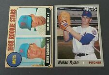 Nolan Ryan New York Mets lot (2) rookie reprint Baseball Cards