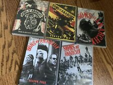 Sons Of Anarchy Season 1 2 3 4 5 DVD Lot Collection