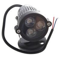 3W 220V LED luz de cesped luz del jardin lampara foco al aire libre Blanco V5T3