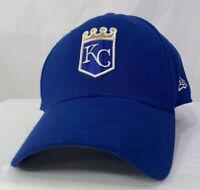 Blue Kansas City Royals Logo Embroidered Baseball Hat Cap Small/med New Era EUC