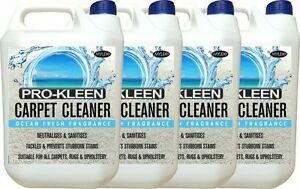 CARPET CLEANING SOLUTION ODOUR EXTRACTION REMOVER UPHOLSTERY SHAMPOO OCEAN 20L
