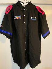 1994 Geoff Bodine Exide Batteries NASCAR Race Used Pit Crew Shirt XXL