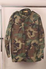 USGI Field Jacket Woodland Camo BDU Cold Weather Coat Medium Regular VGC