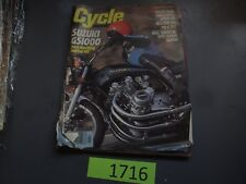 CYCLE MAGAZINE-MARCH 1978-SUZ GS1000-CAN AM MX250-GL1000-BRAD LACKEY-DECOSTER