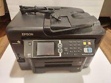 Epson WorkForce WF-3640 Printer Copier Scanner Fax *PARTS * Not Working