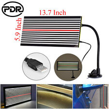 Paintless Dent Repair Removal PDR Tools LED Line Board Light Scratch Reflector