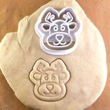 Rudolf Rudolph- Cookie Cutter - Cute - Biscuit - Fondant - Clay - Dough