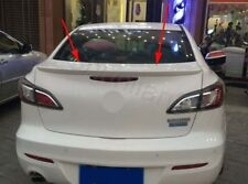 Factory Style Spoiler Wing ABS for 2010-2013 MAZDA 3 4DR Sedan A