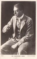 1924 VINTAGE REAL PHOTO MR MATHESON LANG BEAGLES POSTCARD to St LEONARDS-on SEA