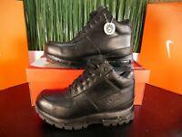 Nike Air Max Goadome ACG Triple Black Mens Boots 865031-009 Size 8-11