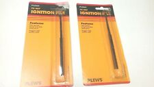 """Plews Ignition Files 5-3/8"""" Long x 5/16"""" Wide 2 Pack USA Made"""
