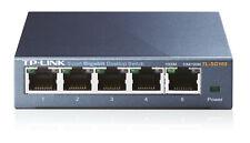 TP Link SG105 5 Port Gigabit Switch 10 100 1000 Ethernet Rj45 Netzwerk Mbit