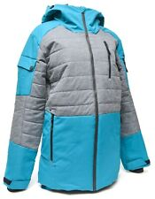 Spyder Bobby Brown The Combo Ski Jacket Men XS Blue Gore-Tex Primaloft Hooded