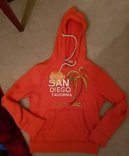 San Diego hollister hoodie small orange
