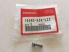 Honda CR125R CR250R '02-'07 OEM Carburetor Screw w/ Washer 16080-KZ4-L22