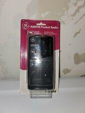 GE 2-Band FM AM Pocket Radio Receiver 7-2584S Vintage Portable Travel Music