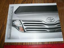 2010 Toyota Camry Corola Matrix Venza Avalo Prius Sienna Sequoia Sales Flyer