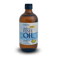 Adult Anti Joint Inflammation Swelling Omega 3 Melrose Fish Oil 500ml Supplement