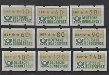 C110 BRD 9 automaatzegels postfris